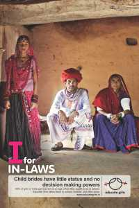 I for In-Laws Child Bride Poster